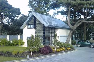 Panorama Rd, Sandbanks (garage shown) - Rheinzink standing seam roofing - Kingsbury Homes - £150,000