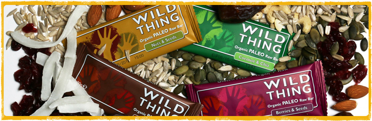 WILD THING paleo snack bars group shot