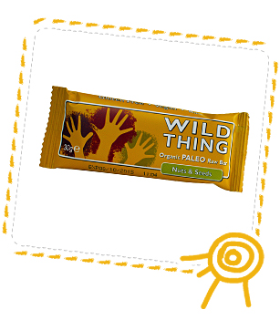 WILD THING Nuts & Seeds organic snack bar