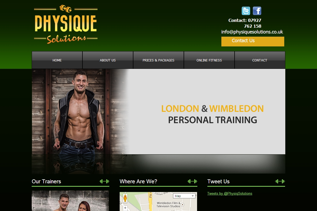 welcome to physique solutions personal trainer wimbledon