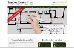 Case study of London Lease Plan website design