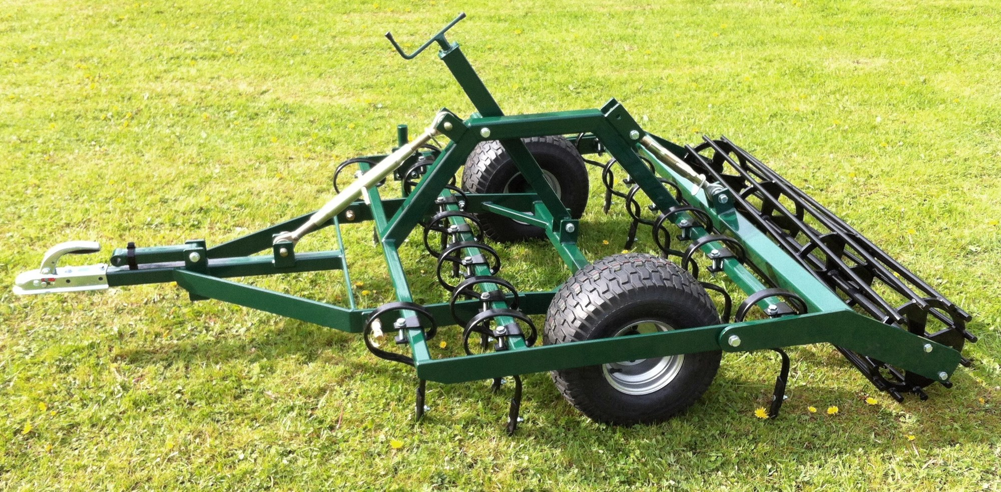 Grader Leveller used for maintaining surfaces on riding arenas