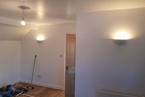 Electrics installed for a loft room in St. Albans, Hertfordshire