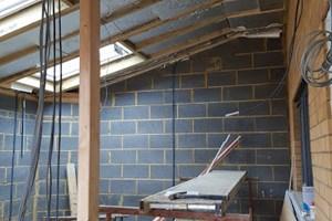 First fix extension in Wolverton, Milton Keynes