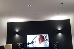 Media and lighting installation