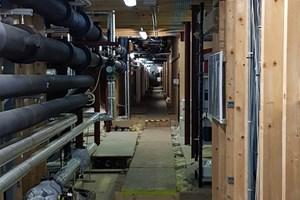Emergency lighting replacement in hotel loft in Milton Keynes, Buckinghamshire