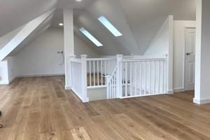 Lighting installation in new loft conversion
