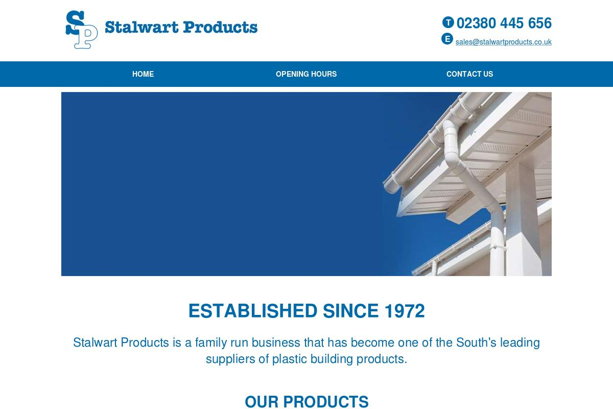 Our Products : Stalwart Products