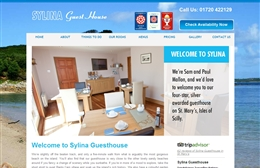 Sylina Guesthouse - bed and breakfast website design by Toolkit Websites, Southampton