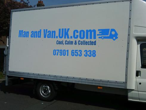 Man and Van Large Luton Van