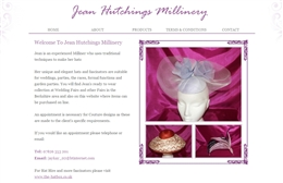 Jean Hutchins - Fashion website design by Toolkit Websites, Southampton