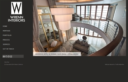 Wrenn Interiors - Interior Design website design by Toolkit Websites, Southampton