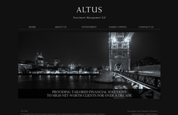 Altus - Financial website design by Toolkit Websites, professional web designers