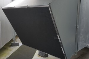 AHU Magnetic air intake screen