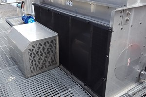 Evapco cooling tower and RABScreen