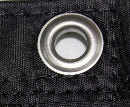 Standard 9.5mm grommet fixing
