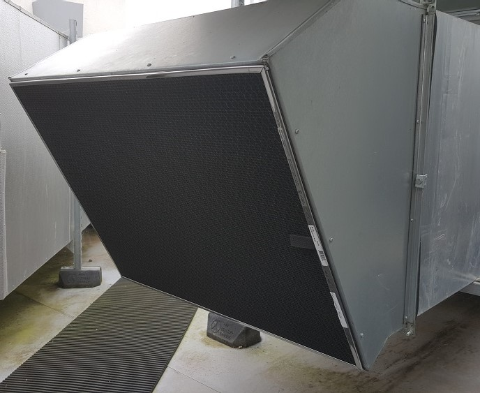Rigid magnetic filter for AHU intakes France