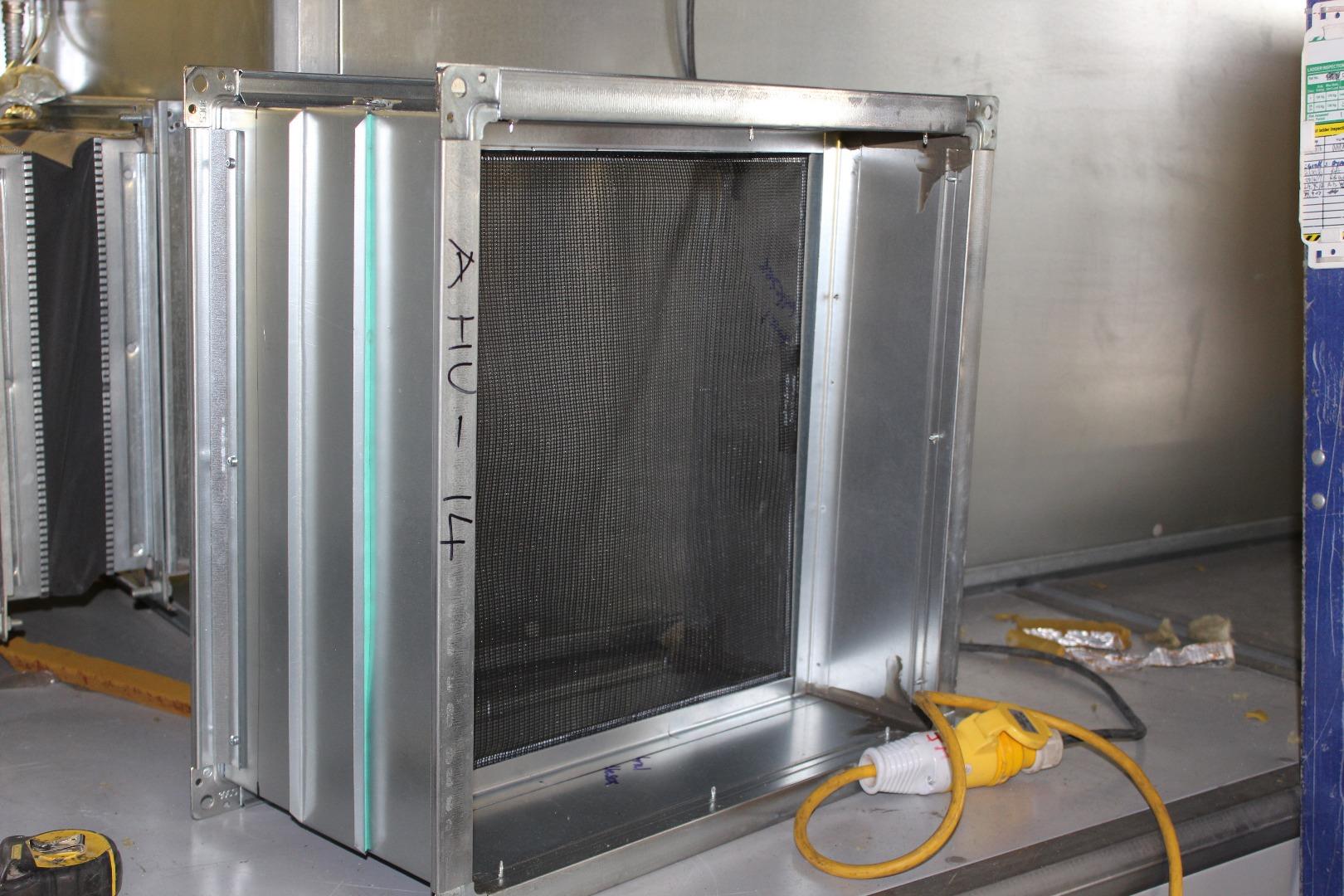 Al Faisaliah Project duct filters