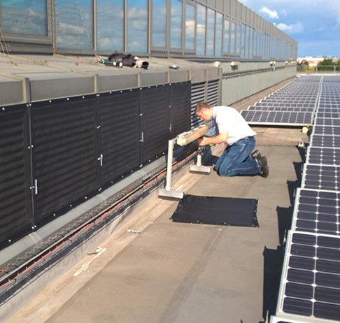 Common plenum RABScreen air intake filter screens at Southmead hospital