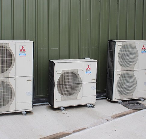 RABSCreen wrap around filter screens on small condensers at a recycling plant in Oxon.