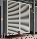 Standard generator intake suitable for RABScreen air intake filter
