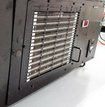 Display refrigeration protection using RABScreen air intake filter screens