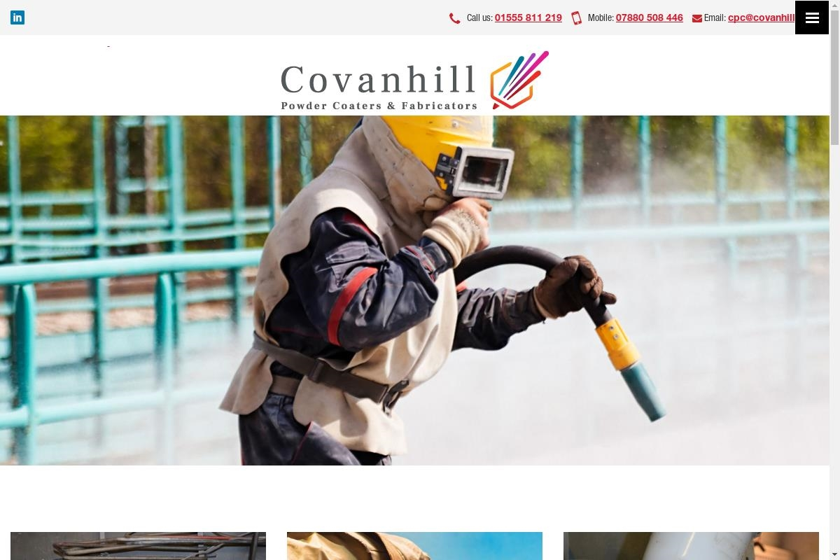 Projects : Covanhill Powder Coaters 2nd Site