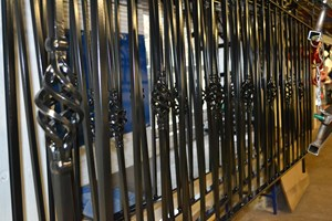 Fabricated and Powder Coated Railings