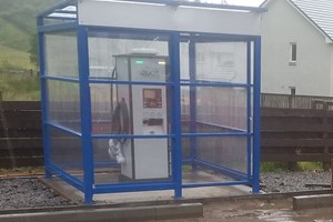 Electric Charging Shelter