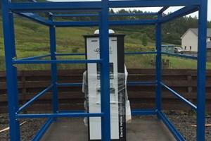 Assembling EV Shelter