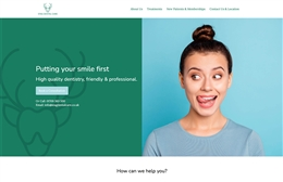 Stag Dental - Dentist website design by Toolkit Websites, professional web designers