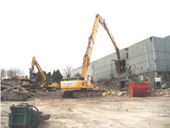 Site clearance in Nottingham