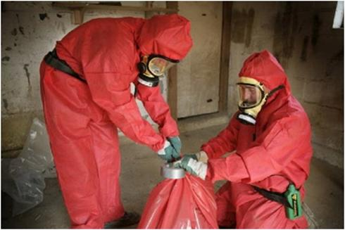 Asbestos removal services in Sheffield