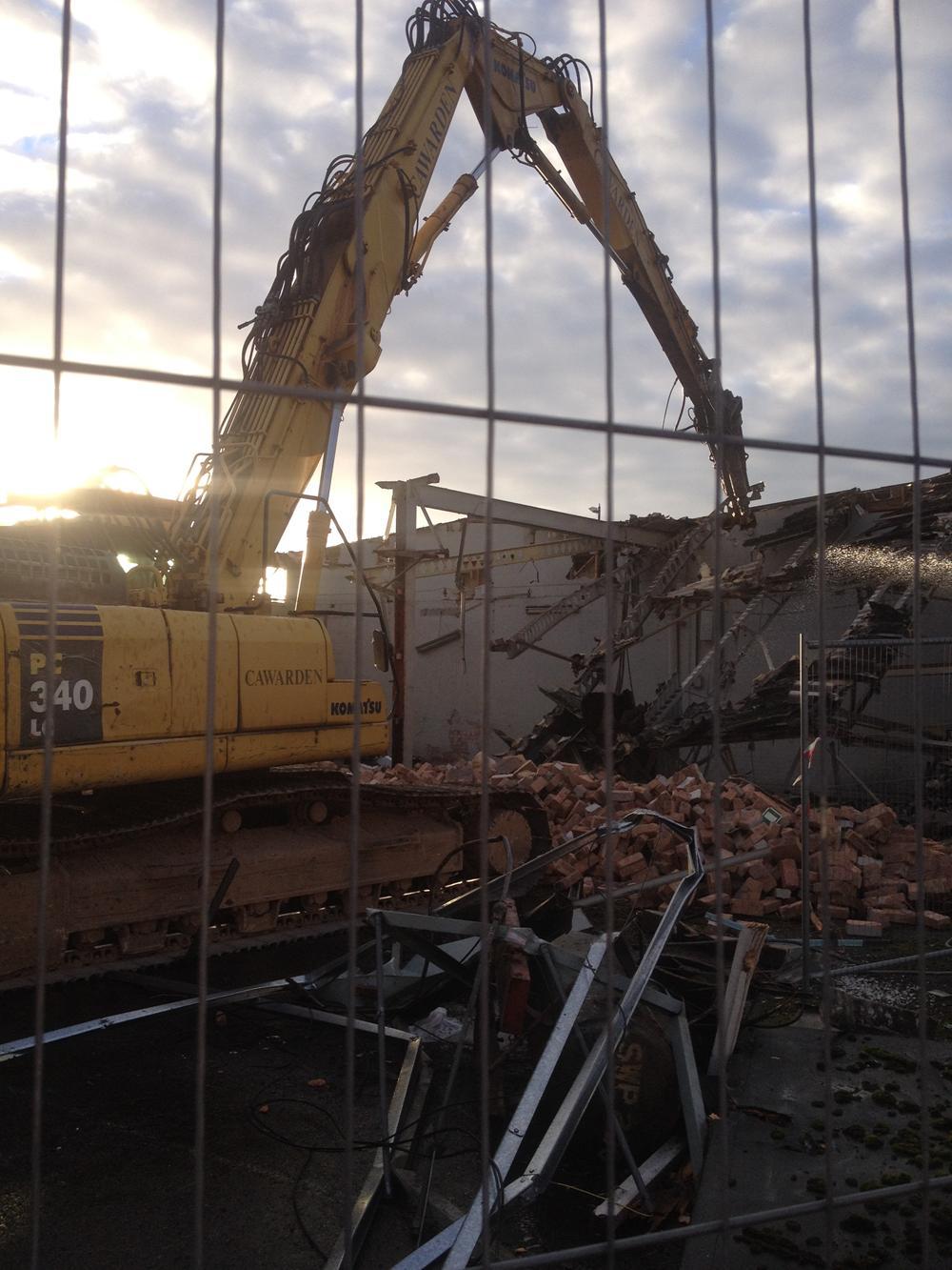 Demolition services in Derby