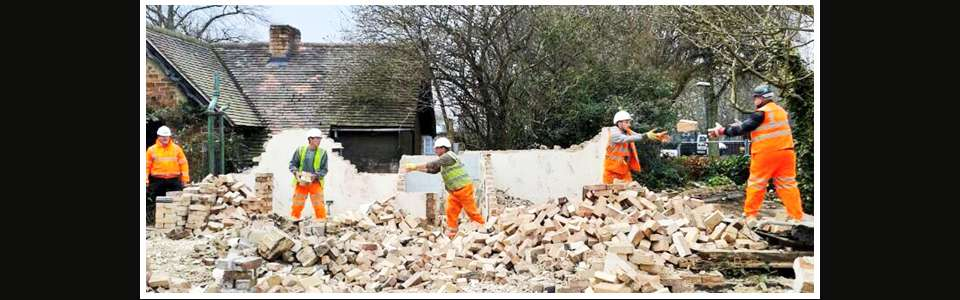 Demolition services in Derby - Cawarden Co Ltd