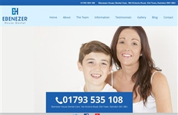 Ebenezer House Dental Practice - Dentist website design by Toolkit Websites, professional web designers
