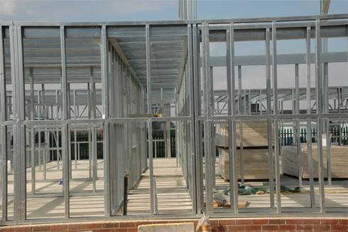 Office Building erection