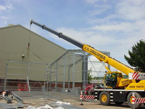 Aircraft Hangar construction