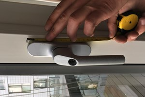 Tilt and turn window , handle replacement , E 14 isle of dogs