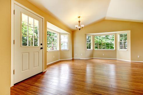 Wooden hard floor