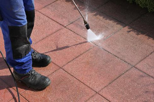 Pressure Washing Tiles image