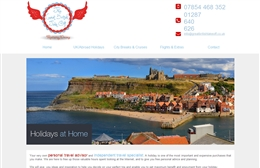 Great British Take Off  - Travel website design by Toolkit Websites, Southampton