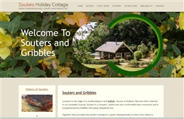 Souters Holiday Cottage - Holiday let website design by Toolkit Websites, Southampton