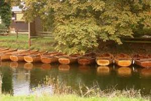 Rowing boats at Dedham