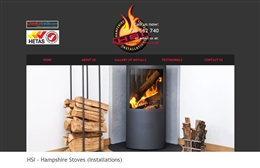 Hampshire Stoves website design case study