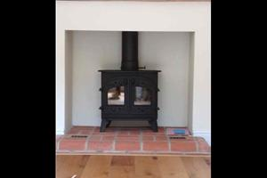 A Villager Stove installed in the Farnham area.