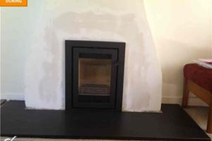 Contura Insert Stove - fitted in Medstead.