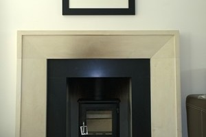 A Chesney stove installed in Hampshire.