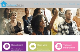 Elmhouse Training - Training website design by Toolkit Websites, Southampton