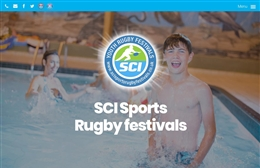SCI Sports Rugby festivals - Personal Trainer website design by Toolkit Websites, professional web designers